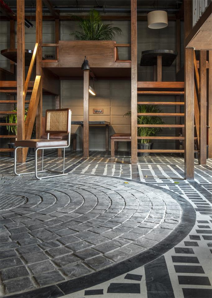 餐厅地面设计