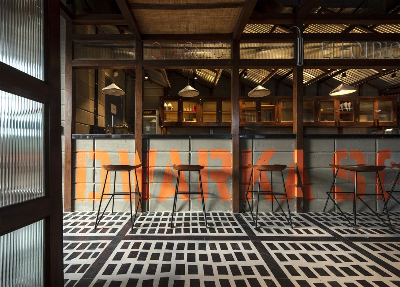 餐厅操作台设计