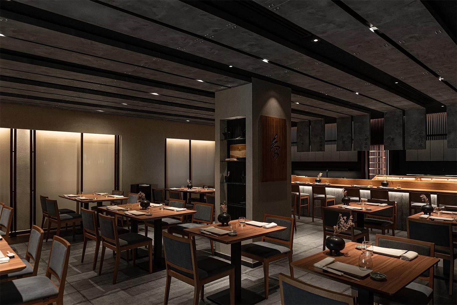 日料店用餐区设计