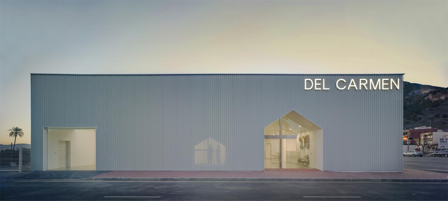 殡仪馆建筑外立面设计