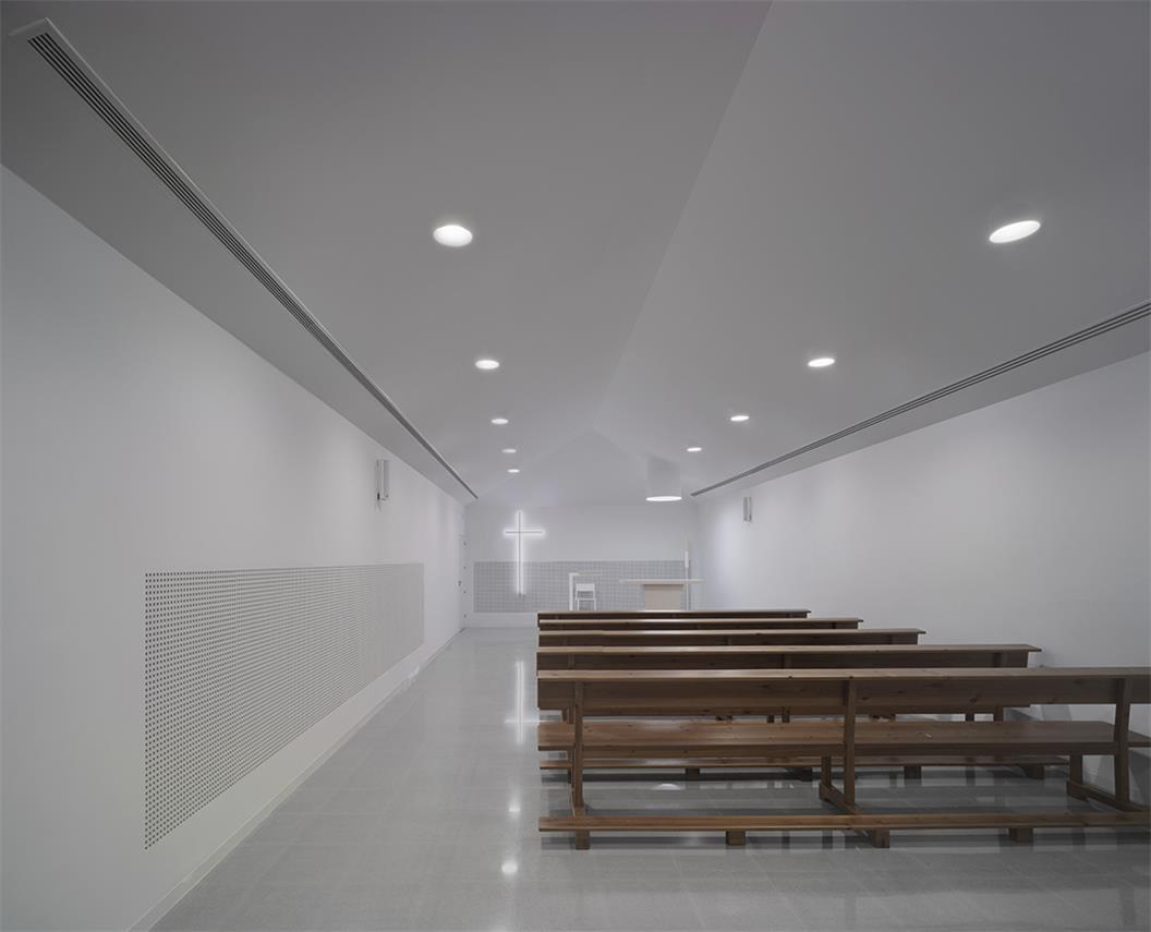 殡仪馆教堂灯光氛围设计