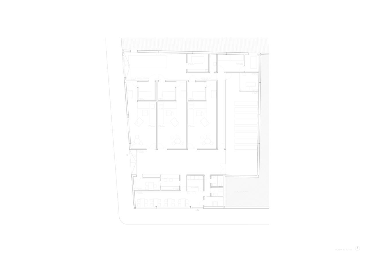 殡仪馆平面方案设计