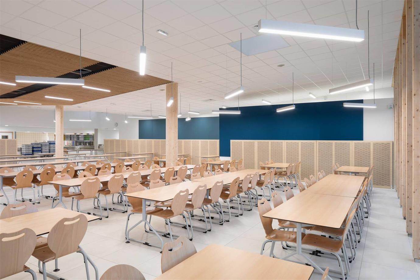 学校食堂用餐区设计