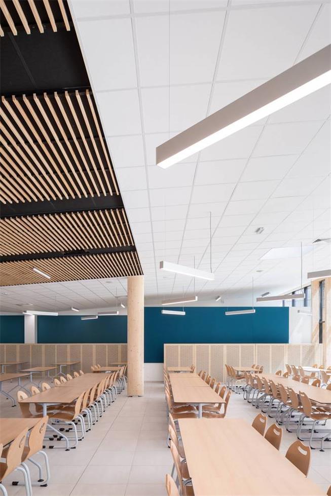学校食堂天花设计