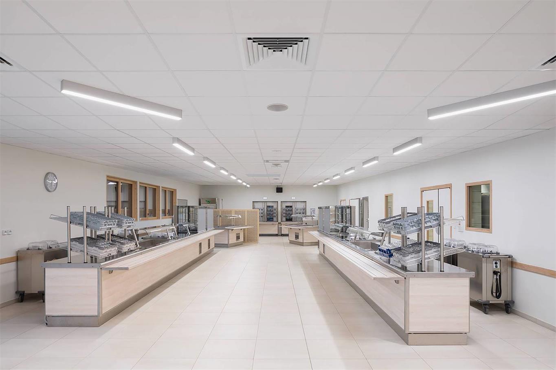 学校食堂开放式档口设计