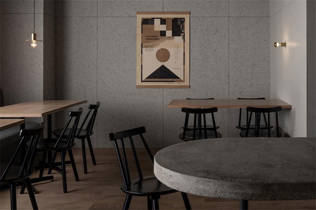 野兽派餐厅客座区设计