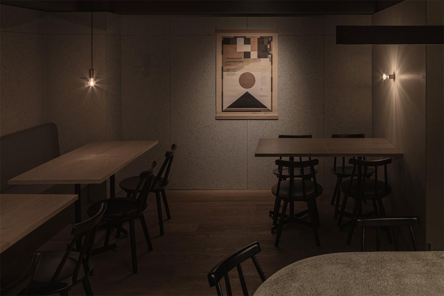 野兽派餐厅客座区灯光设计