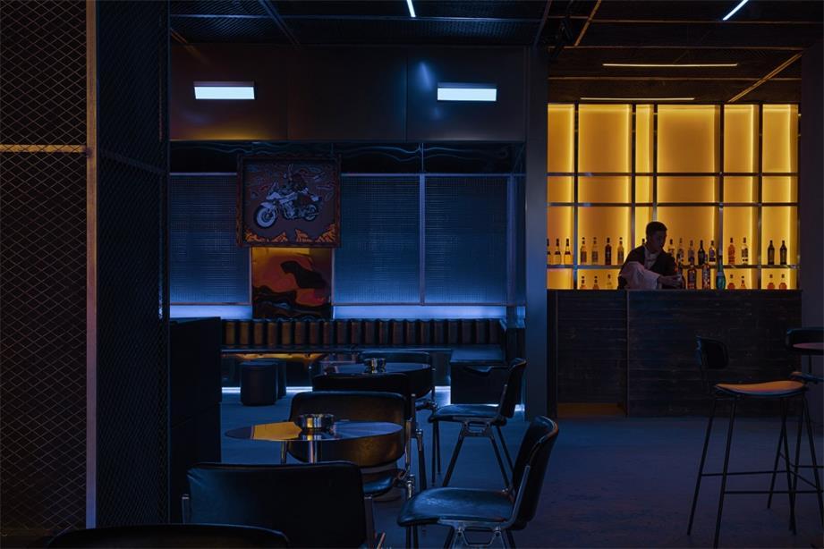 酒吧吧台空间设计