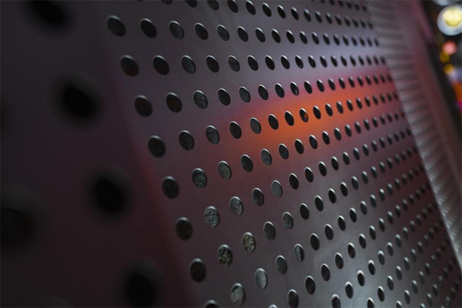 酒吧金属穿孔板材质细节