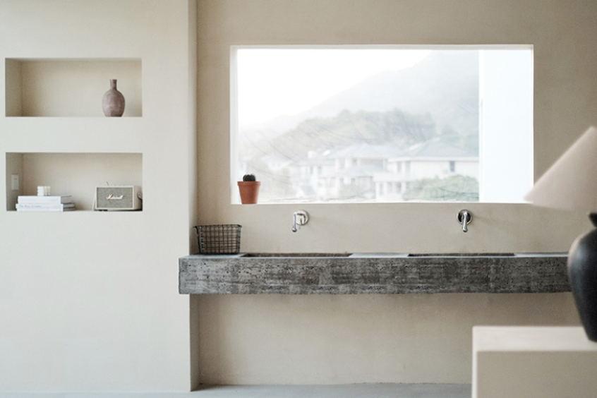 摄影空间二层洗手台设计
