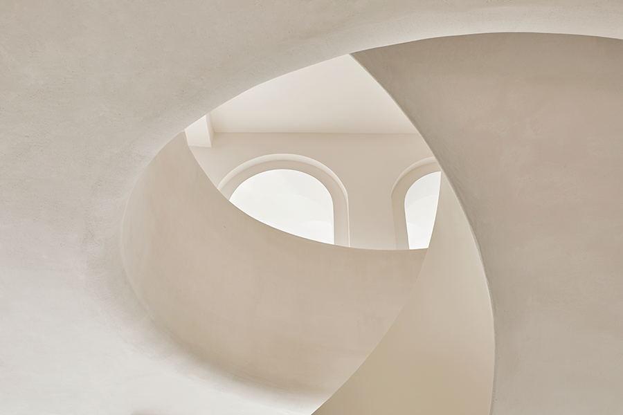 摄影空间旋转楼梯设计细节