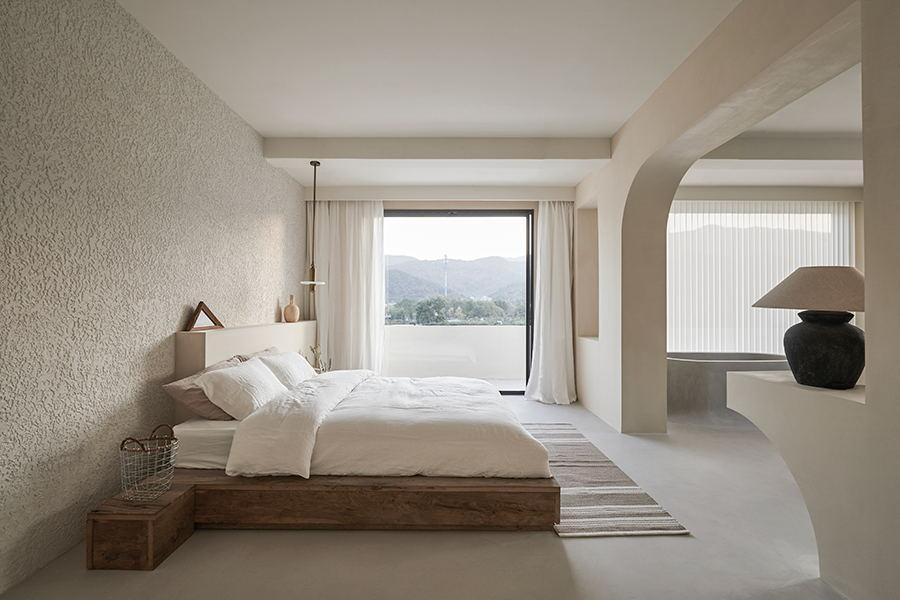 摄影空间三层卧室空间设计