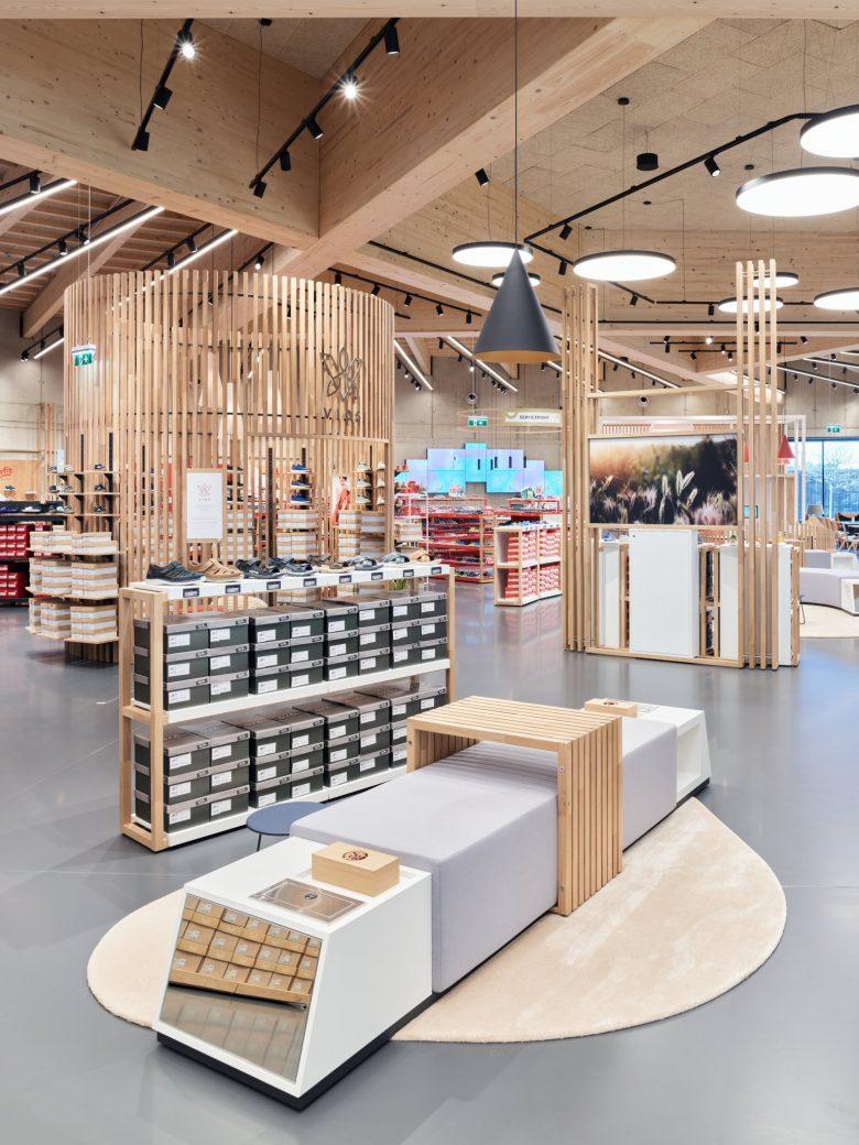 鞋店卖场设计