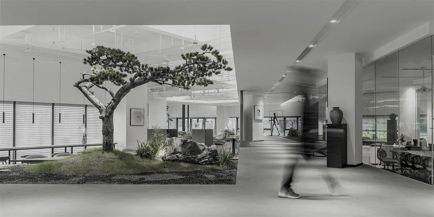 共享办公通道设计全景