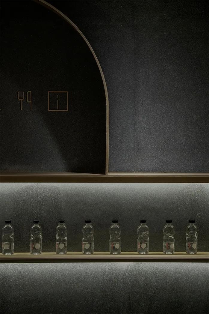 共享办公酒水吧吧台背景设计特写