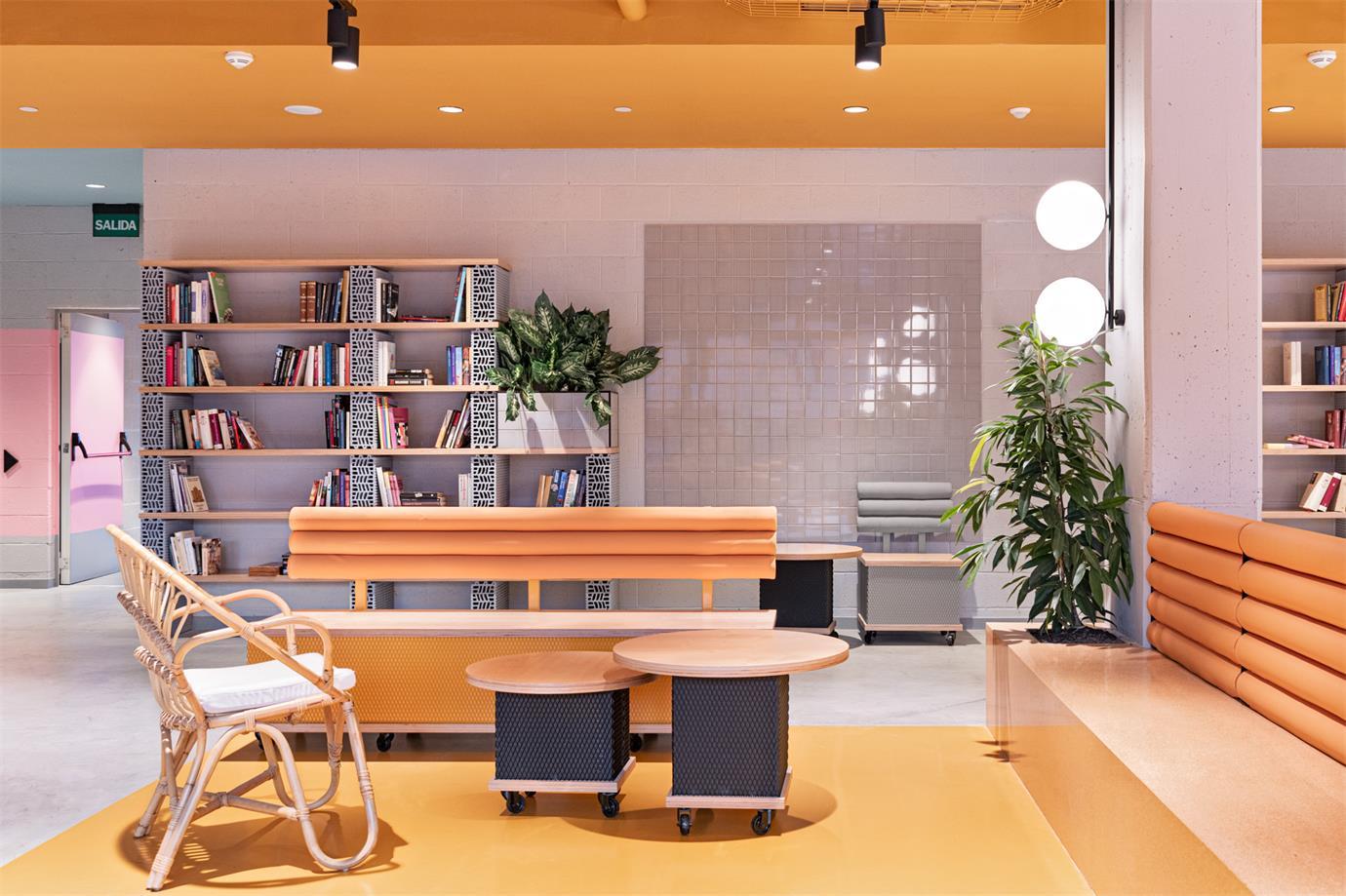 学生公寓阅读区设计