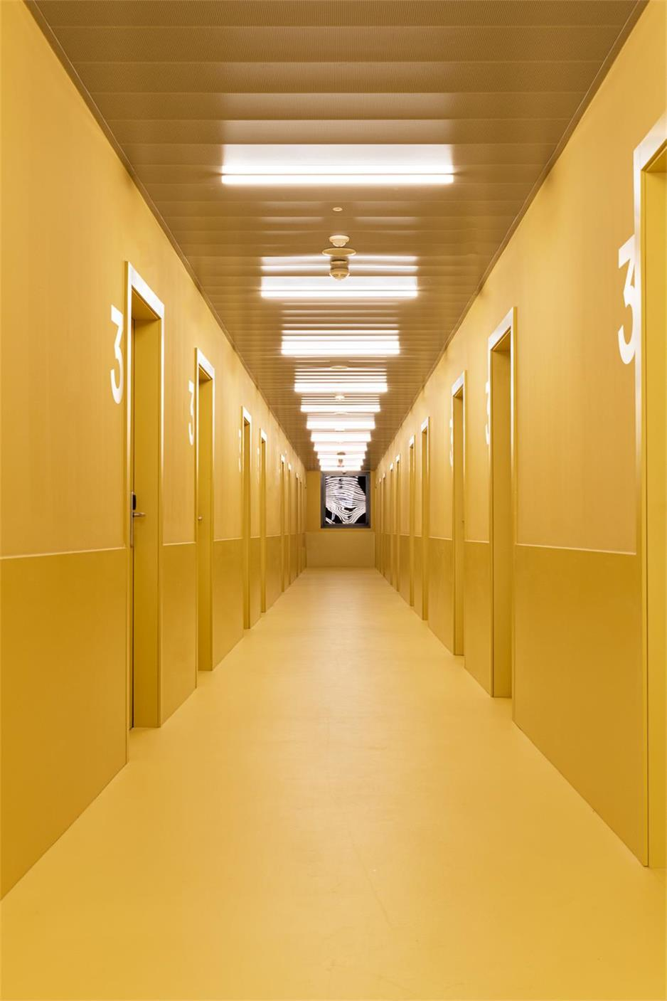 学生公寓房间过道设计