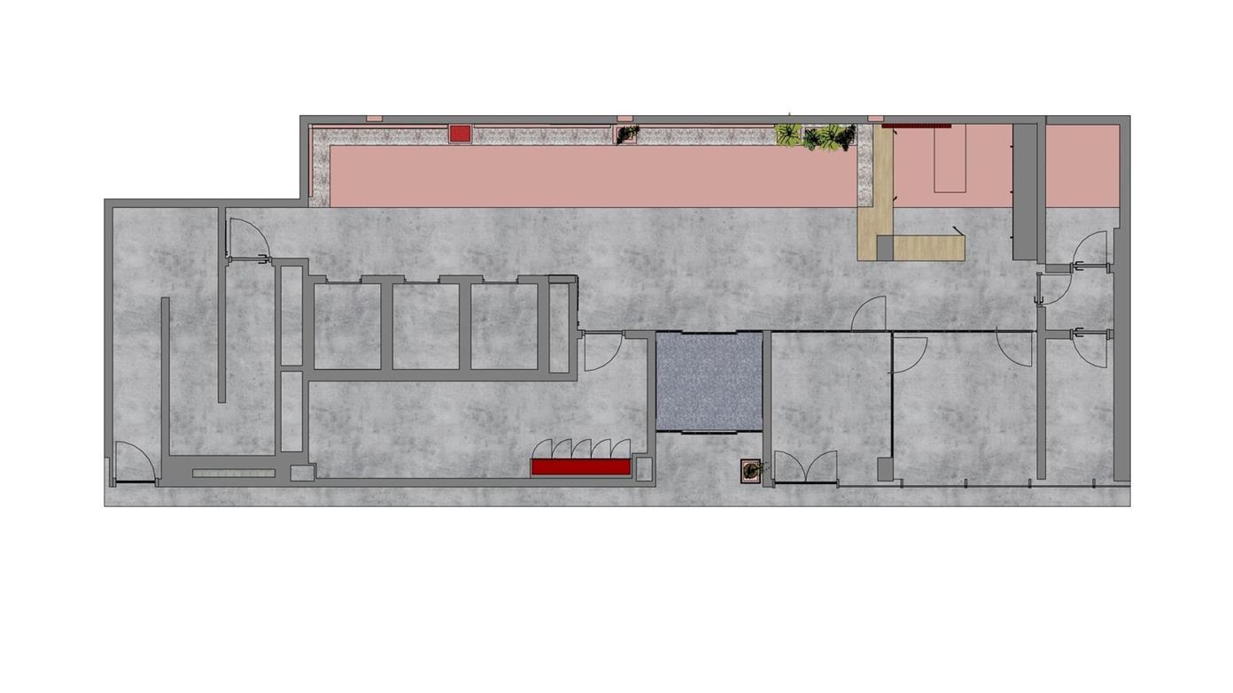 学生公寓功能房间平面方案设计
