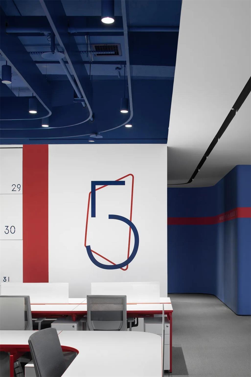 办公室墙面导视设计