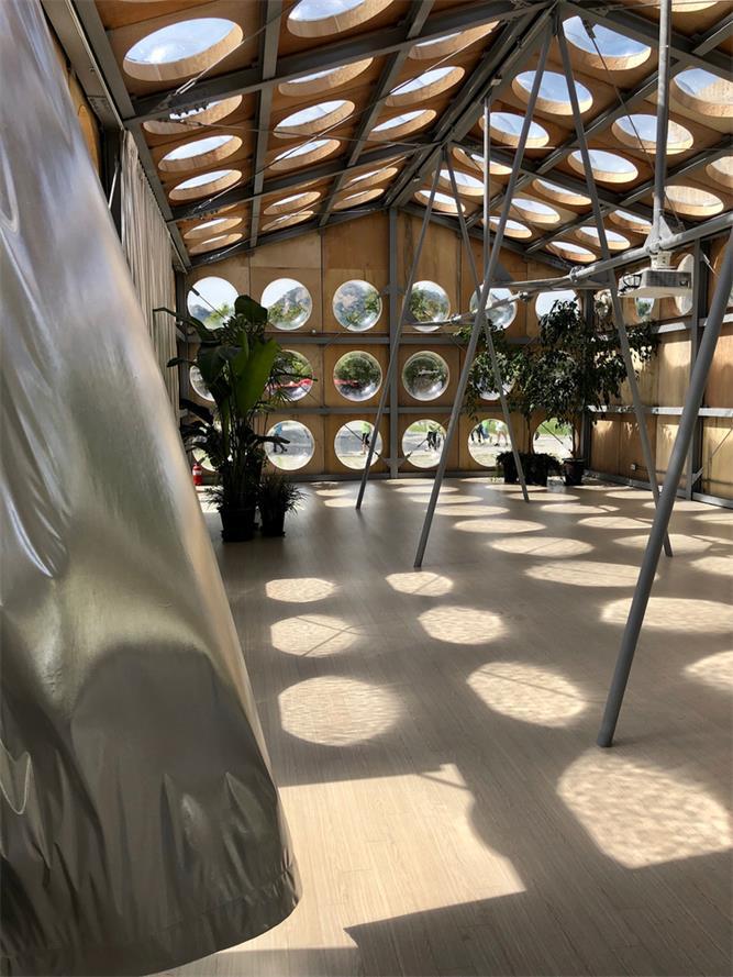 艺术装置内部设计概览