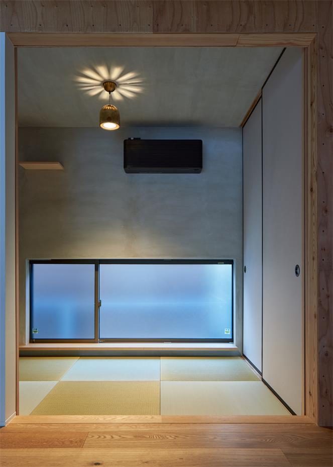 住宅一层榻榻米卧室设计