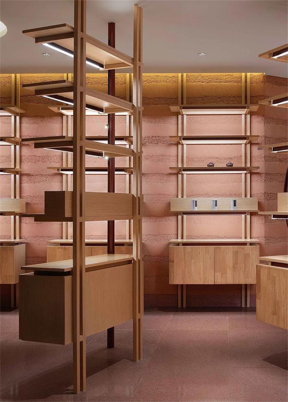 茶文化体验馆展示架设计