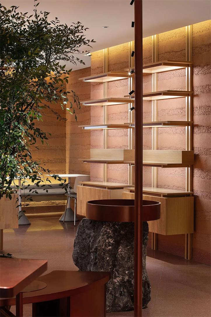 茶文化体验馆灯光氛围设计