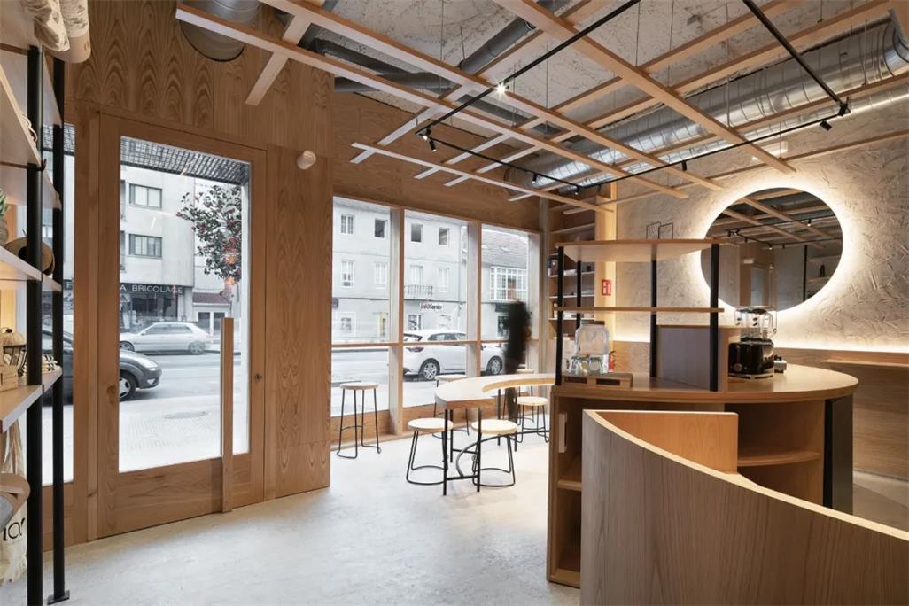 瑜伽工作室茶室空间设计