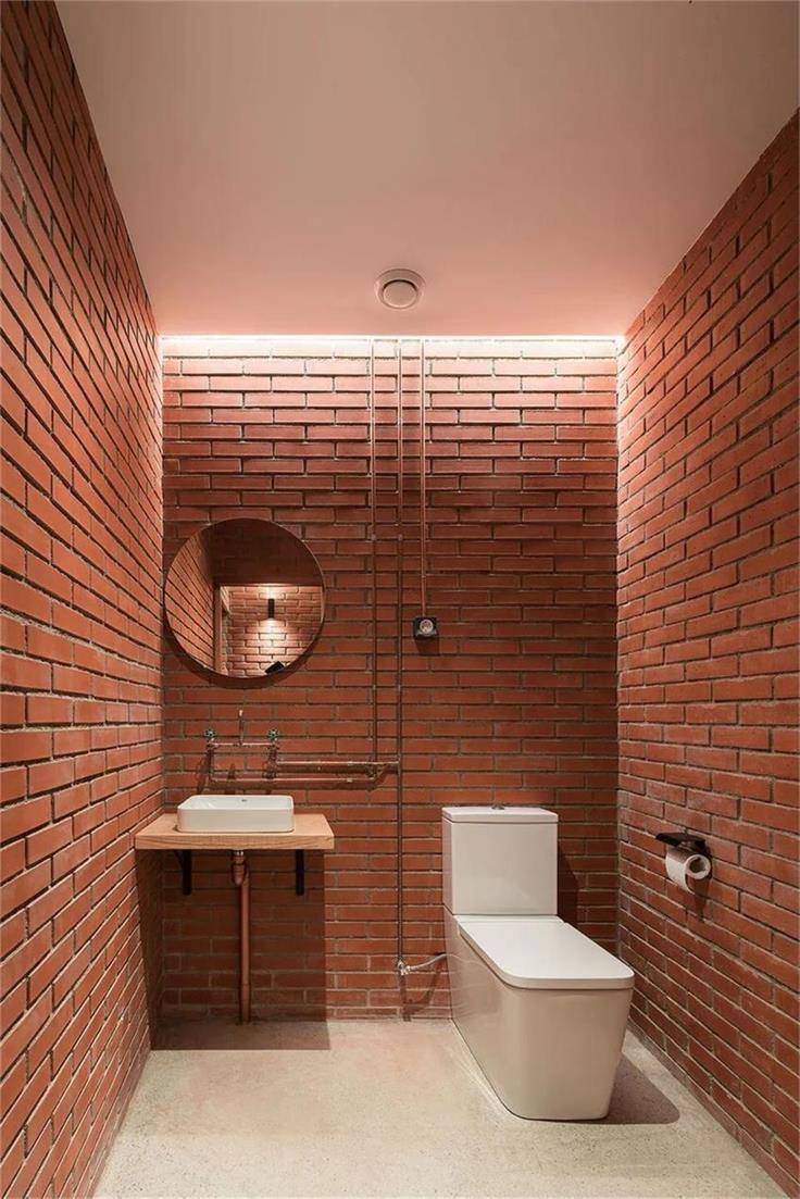 瑜伽工作室卫生间设计