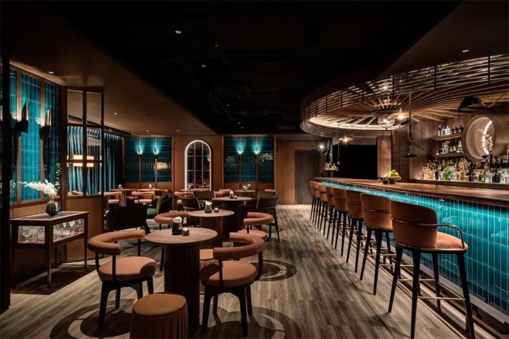 威士忌酒吧客座区设计