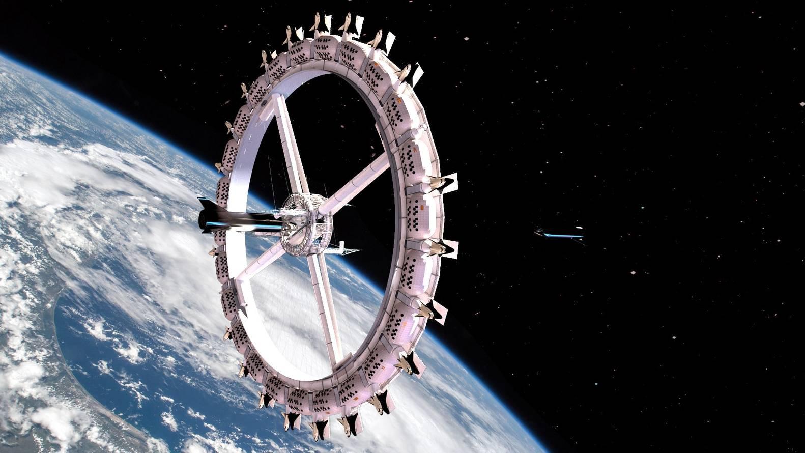 太空酒店设计
