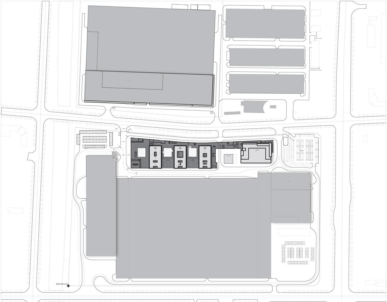 办公楼建筑区位图