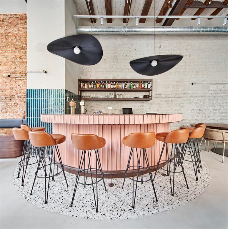 小型餐吧吧台设计