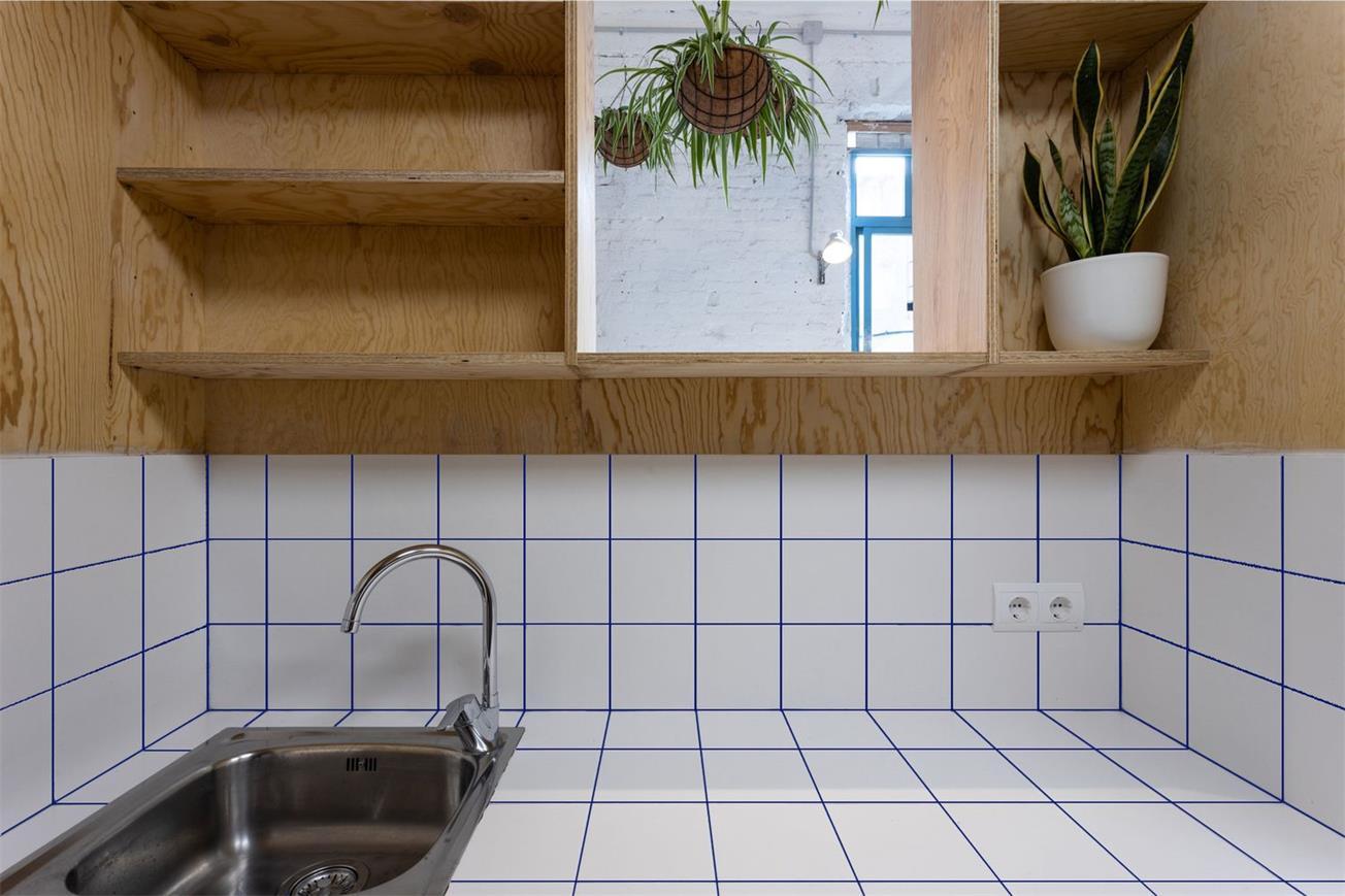 静吧厨房星盆及置物架设计