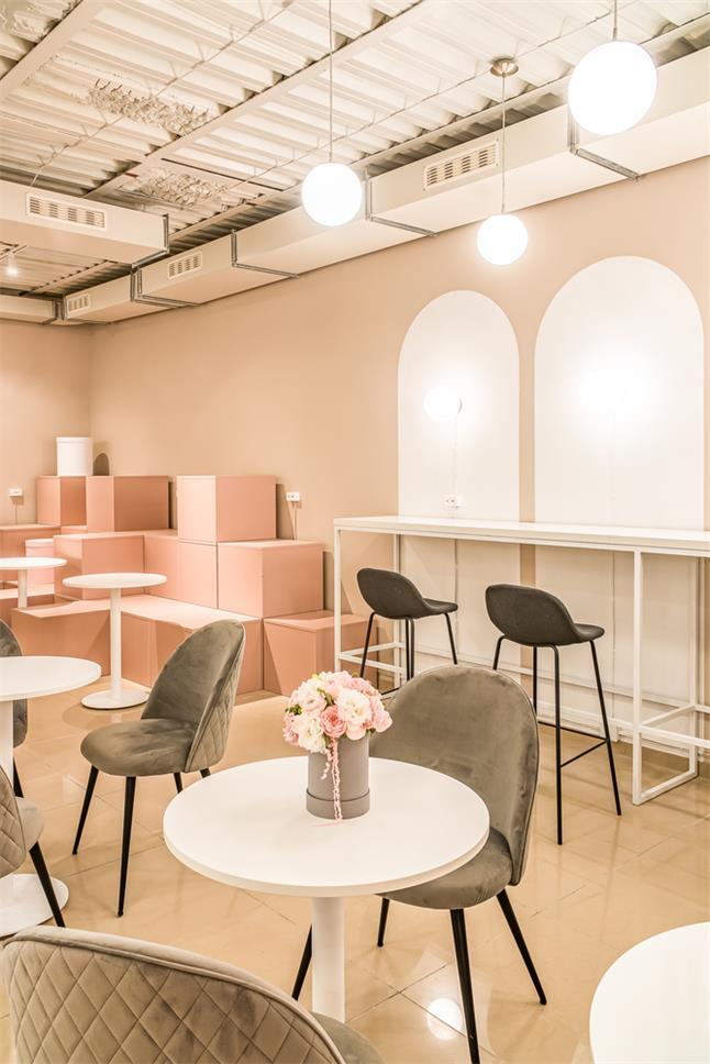 花店主题咖啡厅设计