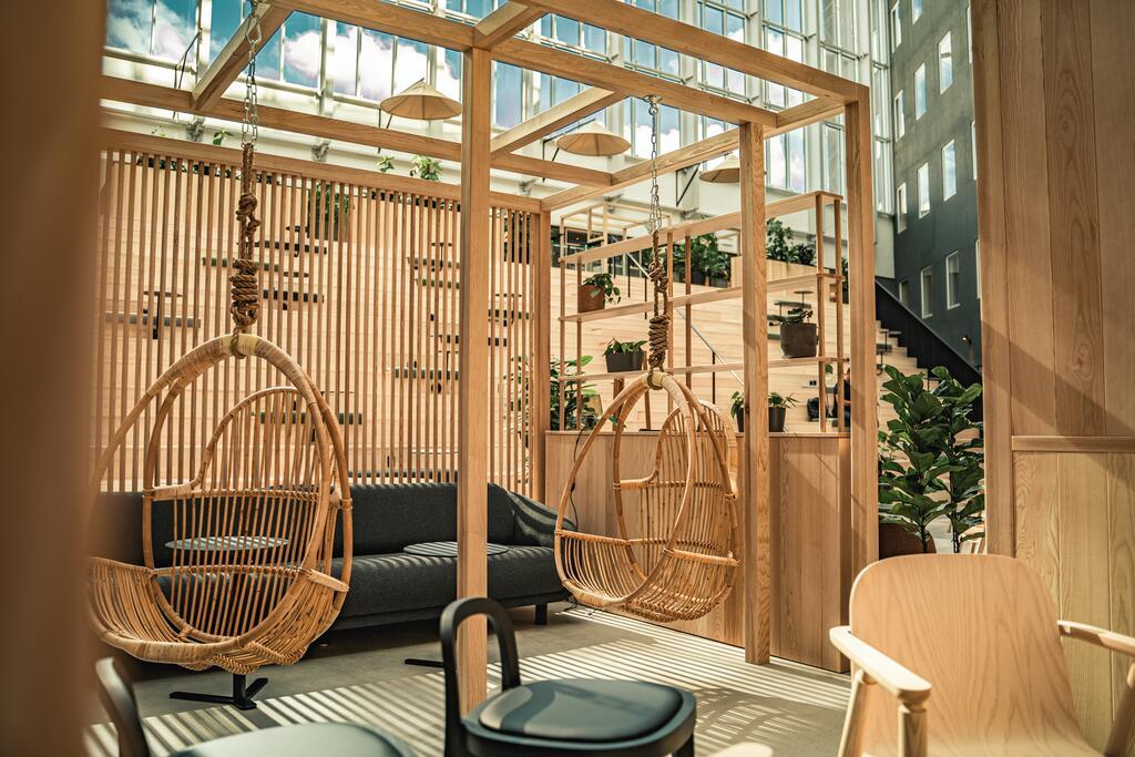 酒店户外吊椅设计