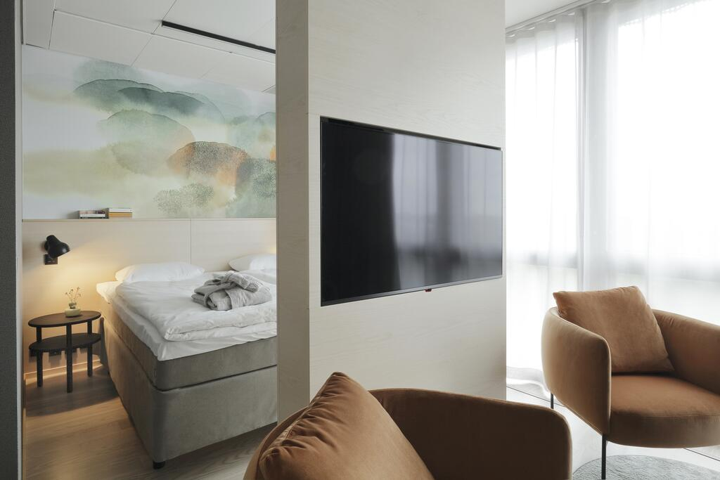 酒店小套房卧室设计