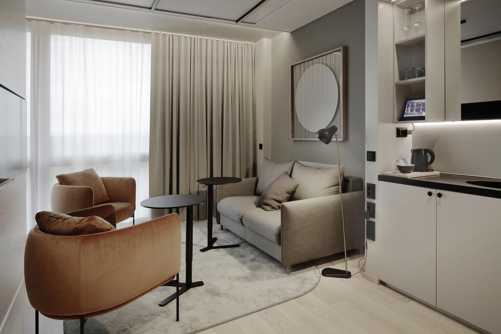 酒店小套房起居室设计