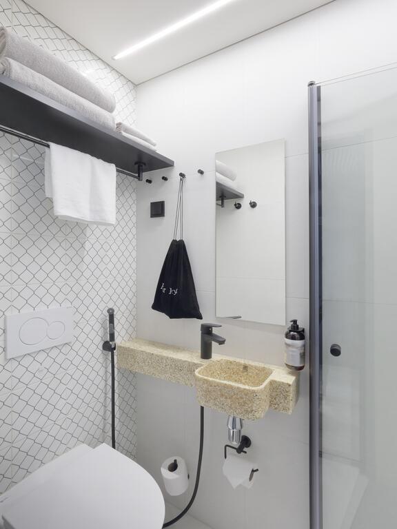 酒店房间卫生间设计