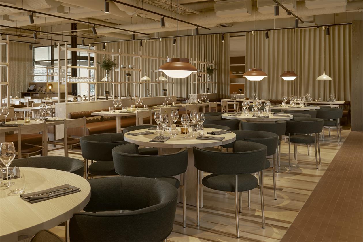 酒店餐厅客座区设计