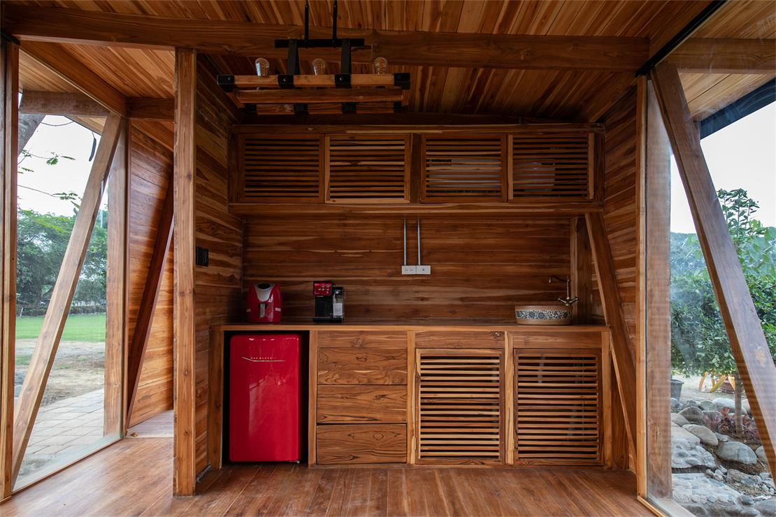 茶室茶水柜设计