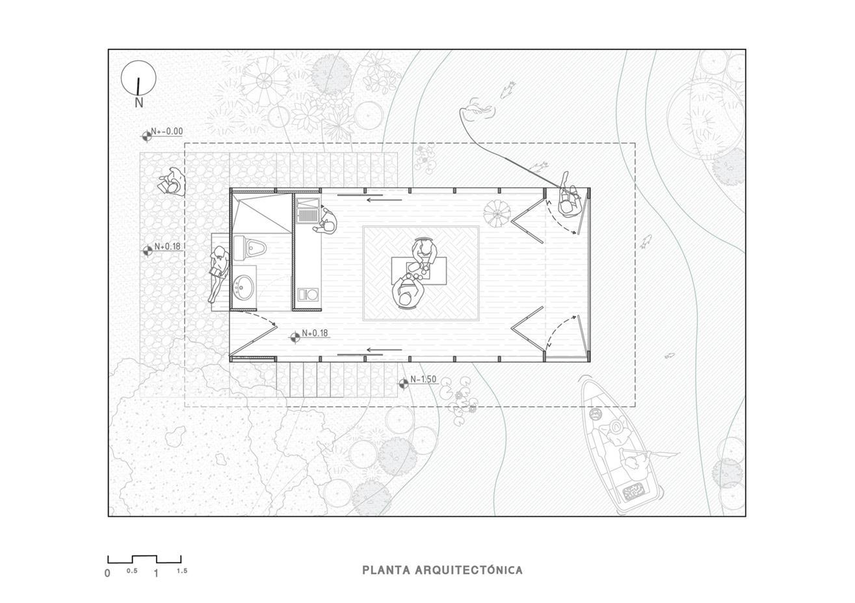 茶室平面方案设计
