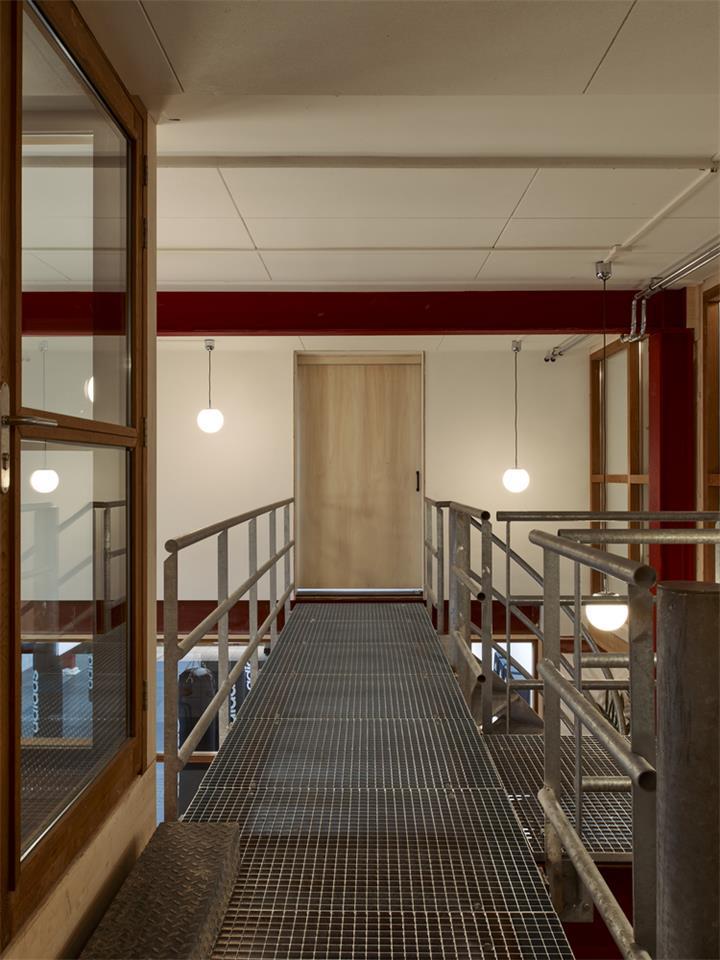 健身房二层连廊设计