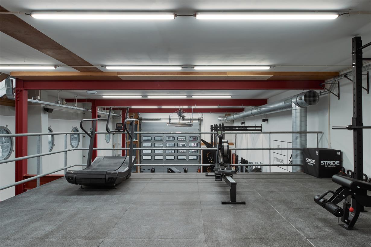 健身房运动机械区设计