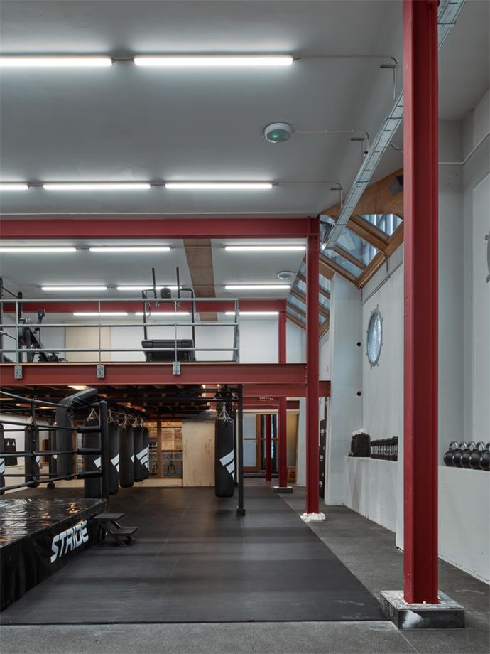 健身区天花及灯具设计