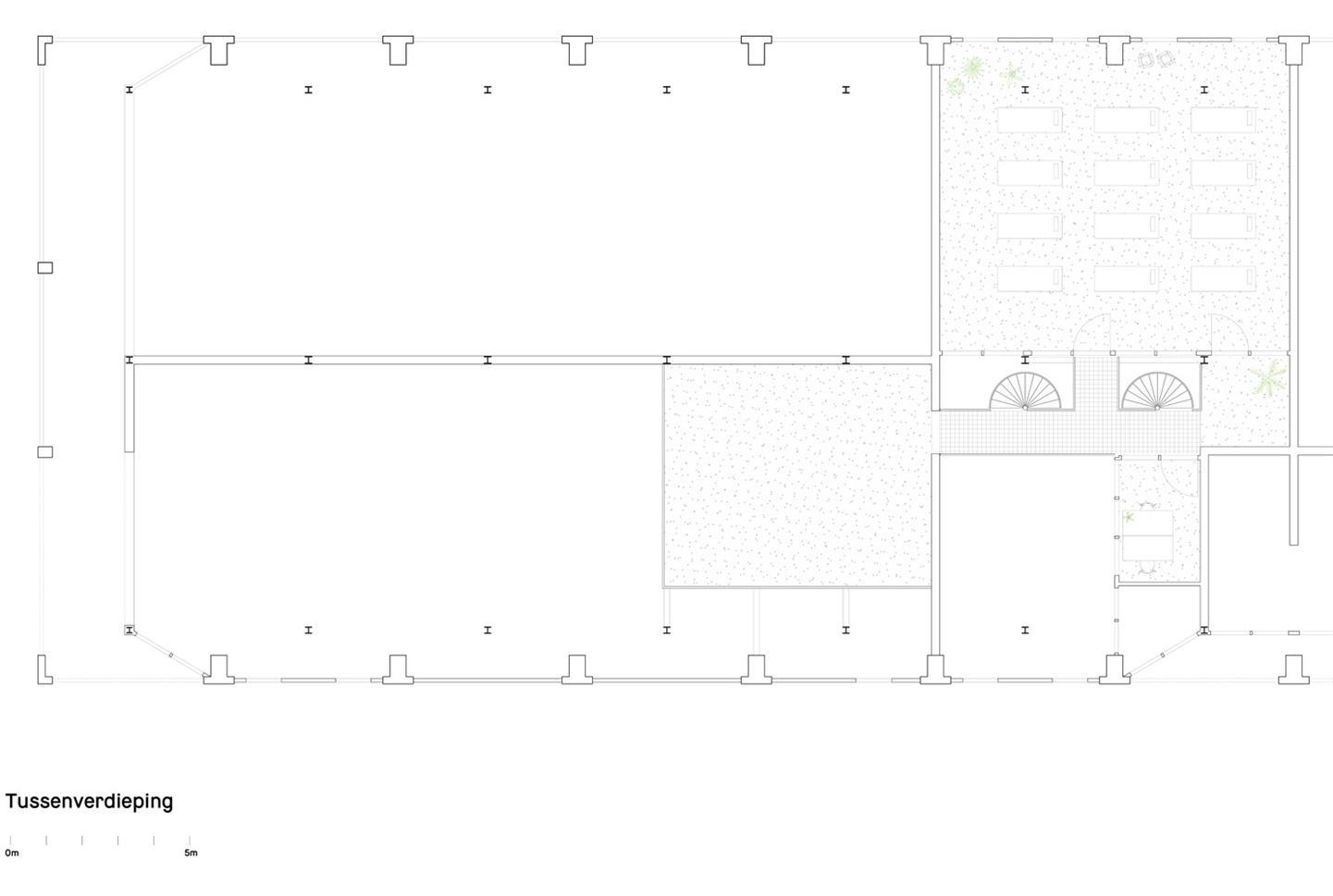健身房二层平面方案设计
