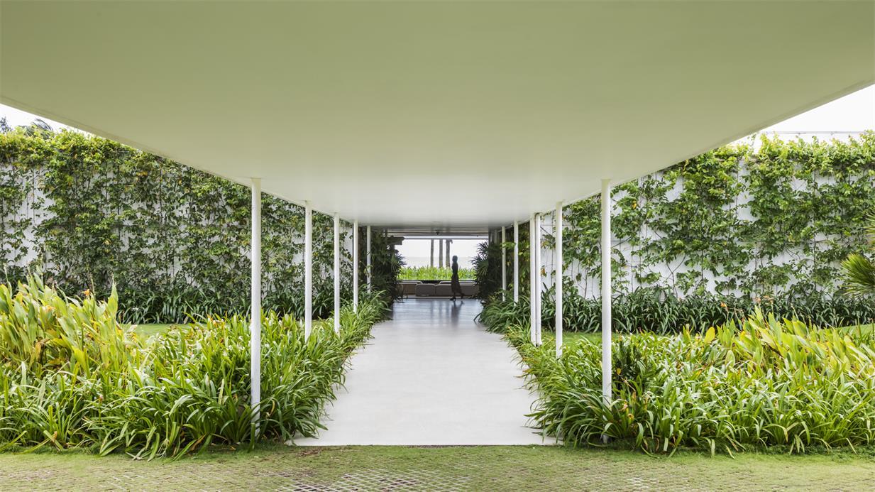 售楼处户外入口长廊设计