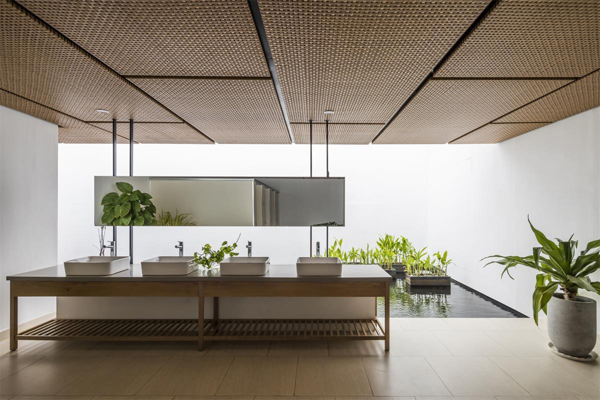 售楼处洗手台设计