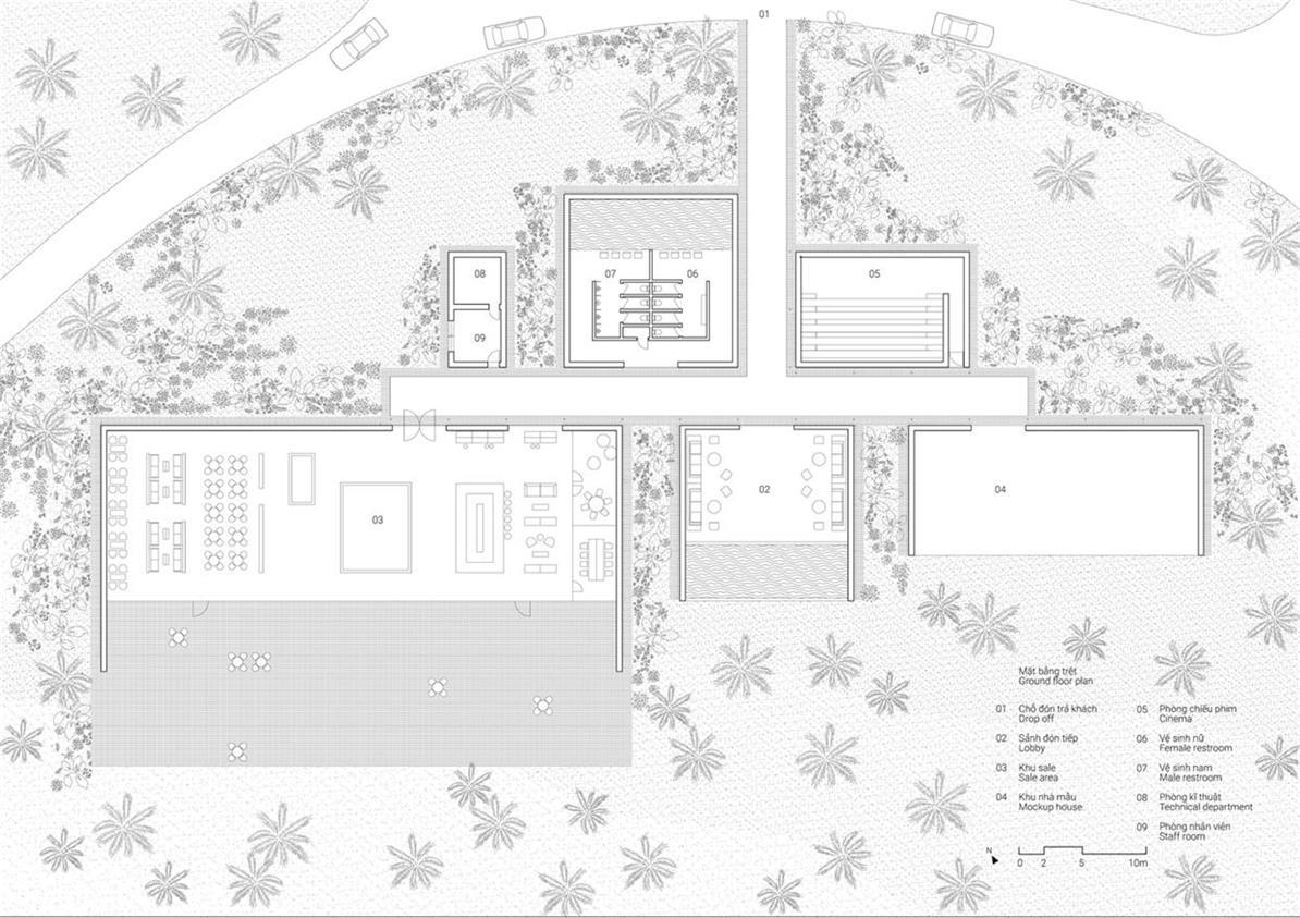 售楼处平面方案设计