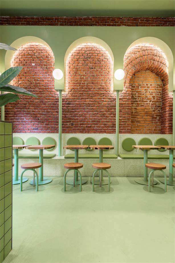 汉堡店设计